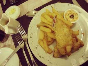 Algún día dejaré de pedir fish & chips? Tal vez. pero éste no será el día.