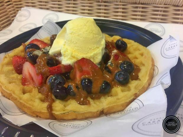 Waffles-con-helado